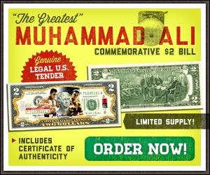 Muhammad Ali $2 Bill