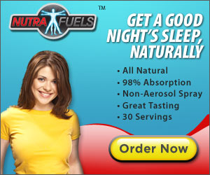 nutrafuels sleep spray