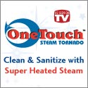 one touch steam tornado
