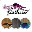 snap-on feathers
