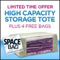 space bag totes high capacity storage solution